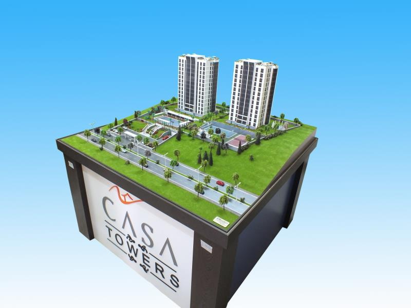 1/100 Casa Towers İstanbul 2011